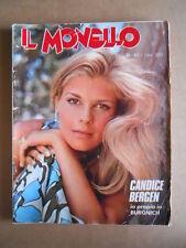 MONELLO n°40 1974 Candice Bergen Inserto Tarcisio Burgnich  [G547]
