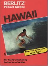 HAWAII POCKET GUIDE- BERLITZ - WORLD'S BEST-SELLING TRAVEL GUIDES FAST FREE POST
