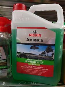 Nigrin Scheibenklar 3 l, Konzentrat Scheibenreiniger Autopflege73136