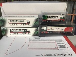 Oxford Diecast 1:76 Eddie Stobart Model Trucks X 4