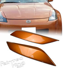--PKUK Painted For Nissan 350Z Z33 Fairlady Z Headlight Eyelid Cover #A17
