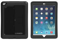 Griffin 360 Military Tough Survivor Slim Case Cover With Stand For iPad Air 2