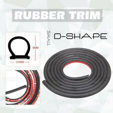 10M Moulding Trim Rubber Strip Car Scratch Protector Edge Cover D-Shape Van Door
