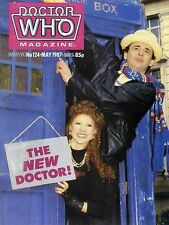 DOCTOR WHO MAGAZINE #124 SYLVESTER MCCOY, BONNIE LANGFORD, ELISABETH SLADEN