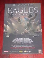 THE EAGLES - 2015  HISTORY OF THE EAGLES  AUSTRALIAN  TOUR  -  PROMO TOUR POSTER