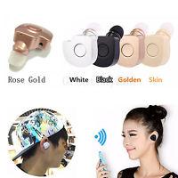 HD Sound Stereo Bluetooth Headset Headphone For Samsung Galaxy S 7 6 5 4 3 Mini