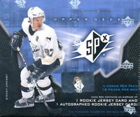 2006-07 Upper Deck SPx Hockey Hobby Box