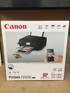 Canon Pixma TS5050 All-in-One Inkjet Printer Brand New Cheap To Run Starter Inks