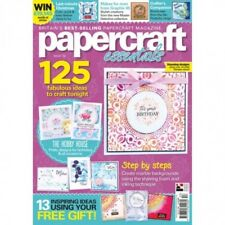 PAPERCRAFT ESSENTIALS MAGAZINE ISSUE 153 WITH FREE MANDALA STENCIL AND STAMP SET