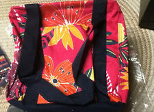 Thirty One SMALL Utility Tote - TROPICAL GARDEN  PATTERN