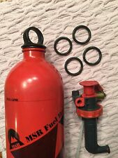 4  for $3.50 MSR Fuel Bottle O-Rings/seal gasket -- fits Stove Pump & Sigg types