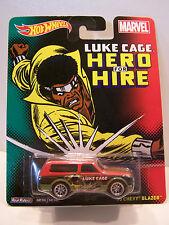 Hot Wheels Marvel Luke Cage 1970 Chevy Blazer MOC  Y0031