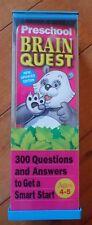 Brain Quest Preschool Feder, Chris Welles Cards