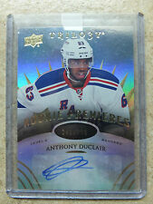 14-15 UD Trilogy Rookie Premieres Level 2 Auto #158 ANTHONY DUCLAIR /399