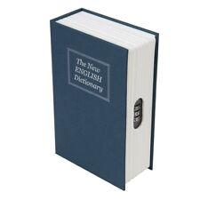 Silverline 534361 Cassaforte a Forma di Libro con Combinazione a 3 Cifre, Blue