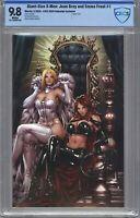 Giant Sized X-Men Jean Grey & Emma Frost #1 CBCS 9.8 Ngu C2E2 VIRGIN (NOT CGC)