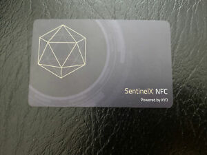 NEW Official XYO NFC SentinelX, COIN App x12 Crypto Geomining - Unshared