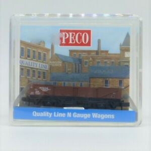 Peco N Gauge BR Bauxite 15ft Tube Wagon (NR-7E) - New (ex-shop stock)