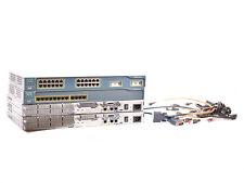 CCNA CCNP LAB starter set 2x 2610 + 1x 2950-12 Ports + 1x 2950-24 Ports + Cables