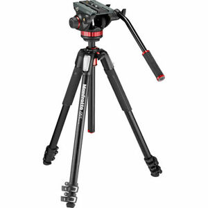 Manfrotto 502 Fluid Head with 055 Tripod