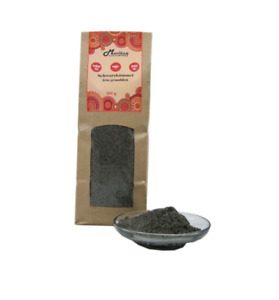 100 g reiner Schwarzkümmel fein gemahlen, Nigella sativa, große Mengen möglich
