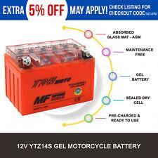 YTZ14S 12V Battery Honda 1100cc CB1100 VT1100C Shadow Spirit A.C.E. Tourer Aero