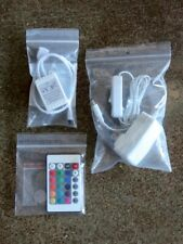 Led Light Strip Controller + Power Supply + Remote (No light strip included)