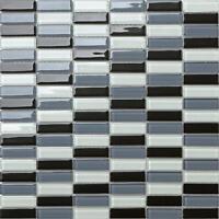 1 SQ M Black Grey White Glass Walls Bath Splashback Mosaic Wall Tiles 0015