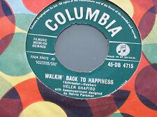 Helen Shapiro,Walkin' Back To Happiness/Kiss 'N' Run (Columbia 1961)
