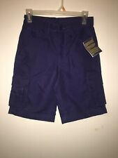 NEW Youth Boy Scouts of America Blue Switchback Uniform Shorts Sz 8