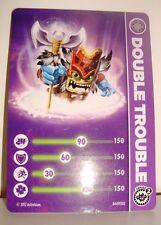 CARTE CARD FIGURINE SKYLANDERS - DOUBLE TROUBLE N°2