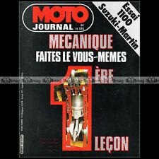 MOTO JOURNAL 525 MARTIN SUZUKI GSX 1100 ★ BULTACO SHERPA 350 LE MANS SALON 1981
