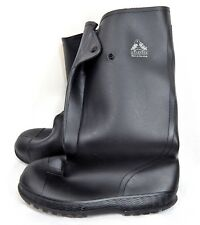 Bata Rubber Boots Pull On Overboot Size Medium M Black Waterproof USA