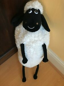 """Wallace And Gromit Shaun The Sheep Long Body Soft Plush Toy  22"""""""