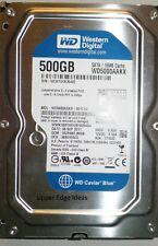 Western Digital 500gb Hard Drive HDD 3.5 WD5000AAKX-001CA0