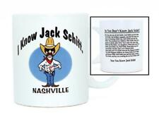 NASHVILLE JOKE JACK SCHITT MUG (1) AND SHOT GLASS (1)LOVE GIVING FUNNY GIFTS FUN