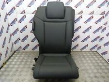 VAUXHALL ZAFIRA B RIGHT DRIVER SIDE REAR 3RD ROW SEATS FULL BLACK LEATHER 05-14