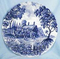 Shakespeares Country Dinner Plate Royal Essex Ironstone Hathaway Cottage H Nice