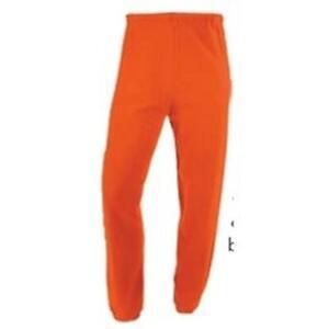 Russell Athletic Dri-Power Closed Bottom Sweatpants - Adult XL - Burnt Orange