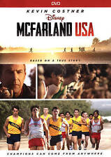 McFarland, USA (DVD, 2015)FREE FIRST CLASS SHIPPING !!!!!