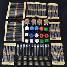 Elektronik Bausatz Kit/Set für ARDUINO Bauteile Widerstände Schaltknopf resistor