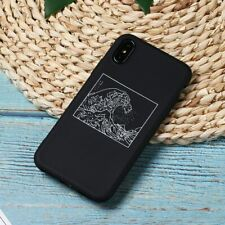 The Great Wave off Kanagawa Back Cover Soft Silicon Fundas For iPhone 6 7 8 xs