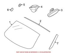 For BMW Genuine Interior Rear View Mirror Cover Front Outer 51169219140