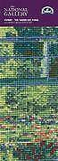 DMC Counted Cross Stitch Bookmark Kit - The Water Lily Pond - Monet