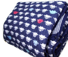 Pottery Barn Kids Multi Colors Dino Dinosaur Dempsey Whole Cloth Twin Quilt Sham