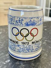 Official 1972 Munich Olympics Tankard