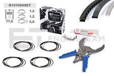 4x Piston Rings Repair Kit Std VW Audi Skoda Seat 1,2 TSI TFSI Cbza Cbzb