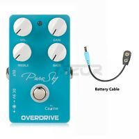 Caline CP-12 Pure Sky Overdrive Guitar Effect Pedal Metal Enclosure True Bypass