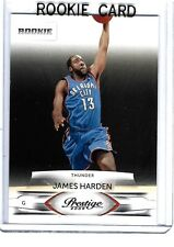 2009-10 Prestige James Harden #153 RC &7 Bonus Card Lot Houston Rockets 2018 MVP