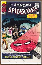Amazing Spider Man  #22 poster art print '92  Steve Ditko  Clown Masters